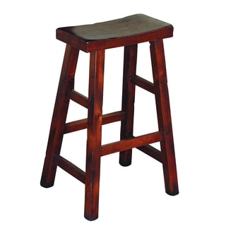 Sunny Designs Santa Fe 30-inch Saddle Seat Bar Stool