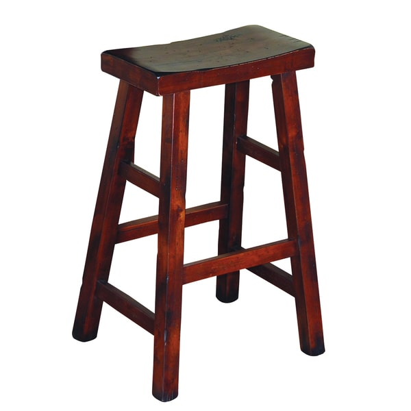 Sunny Designs Santa Fe 30 Inch Saddle Seat Bar Stool