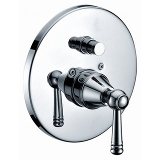 Dawn Chrome Finished Pressure Balancing Diverter Valve Trim