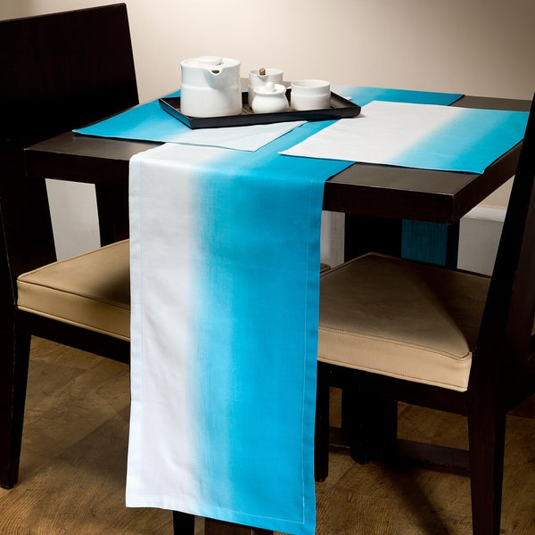 Gradient Runner and Placemat Set