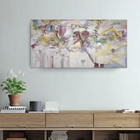 Ready2HangArt Zane 'Abstract XXI' Canvas Wall Art