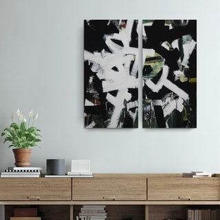 Ready2HangArt Zane 'Abstract XXIII' Canvas Wall Art