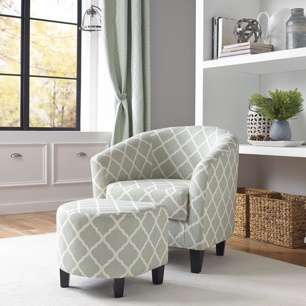 Jordana accent chair and matching ottoman free shipping for Jordan linen modern living room sofa