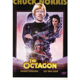 The Octagon movie DVD Chuck Norris karate martial arts action classic!