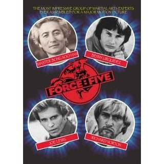 Force Five movie DVD 2004 Bong Soo Han, Benny the Jet, Joe Lewis, Richard Norton