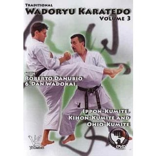 Traditional Wado Ryu Karate-Do #3 Ippon-Kumite Kihon-Kumite & Ohio-Kumite DVD
