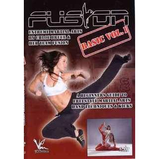European Extreme Martial Arts Basic #1 DVD Chloe Bruce women girl