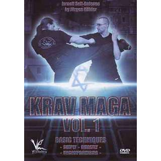 Krav Maga #1 Israeli Self Defense DVD Jurgen Kohler