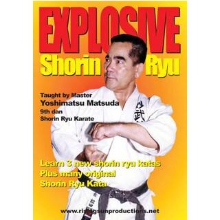 Yoshimasa Matsuda Okinawan Explosive Shorin Ryu Karate Do Katas DVD
