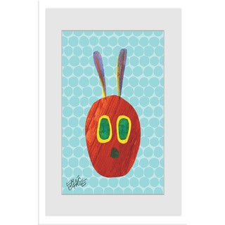Marmont Hill - Caterpillar Character by Eric Carle Painting on Framed Print