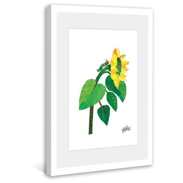 Marmont Hill - Climbing Caterpillar by Eric Carle Painting on Framed Print