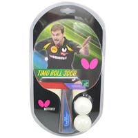 Butterfly Timo Boll 3000 ITTF Approved Sponge and Pan Asia Rubber Table Tennis Racket