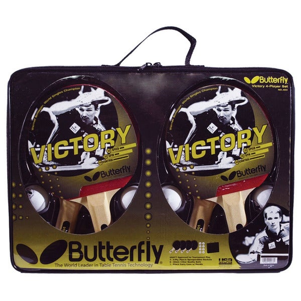 Butterfly Victory 4 Player Set with 8 Balls