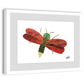Marmont Hill - Red Firefly Character Art by Eric Carle Painting on Framed Print