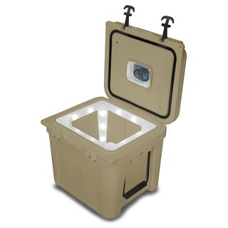 Lit 22 Quart Cooler in Sage with a White LED Liner