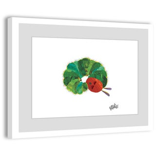Marmont Hill - Napping Caterpillar by Eric Carle Painting on Framed Print