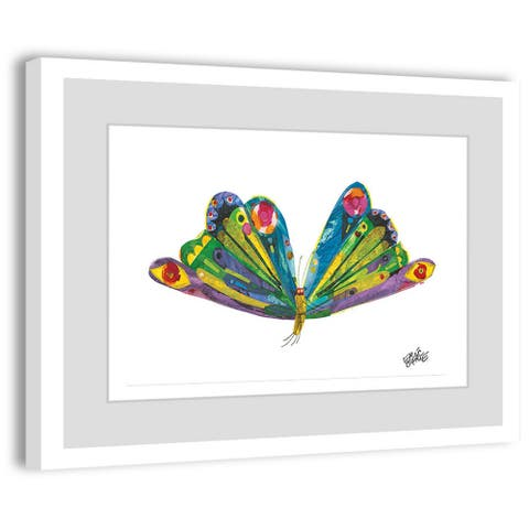 Marmont Hill - Handmade Beautiful Wings Painting on Framed Print