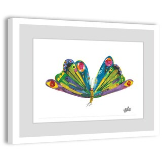 Marmont Hill - Beautiful Wings by Eric Carle Painting on Framed Print - Multi-color