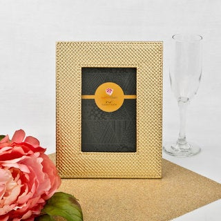 Metallic Gold Picture Frame