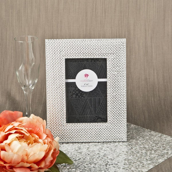 Metallic Silver Picture Frame