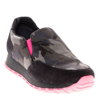 Prada Women's Camouflage Slip-On Sneaker