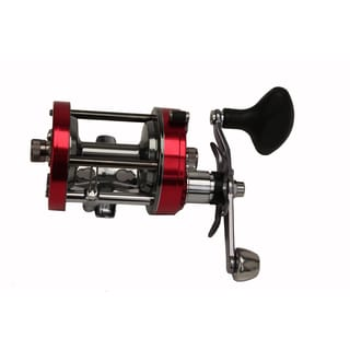 Abu Garcia Ambassadeur C Round Reel 7001. 4.1:1 Gear Ratio 2 Bearings 20 lb Max Drag Left Hand