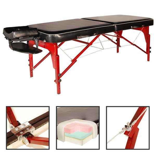 Shop master massage 30 inch monroe lx portable massage table package n a free shipping today - Portable massage table reviews ...