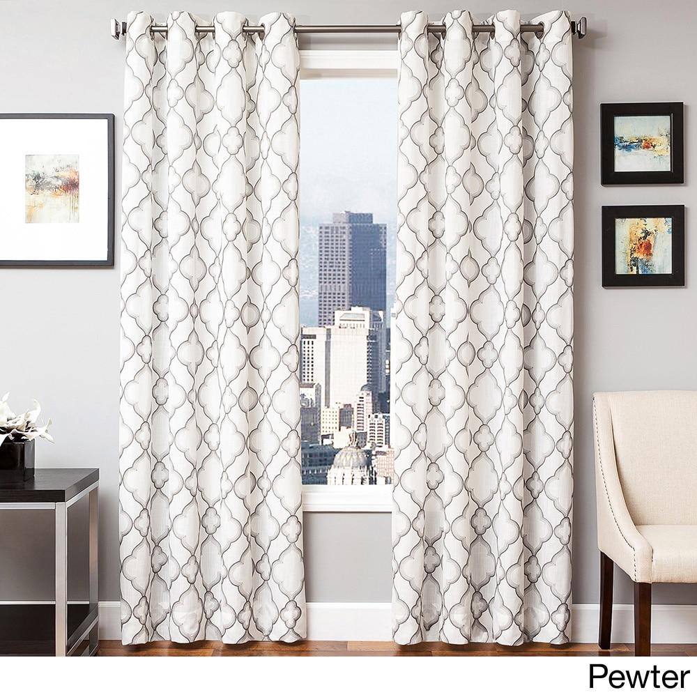 Shop Softline Yasmina Weave Grommet Top Panel - 10825961