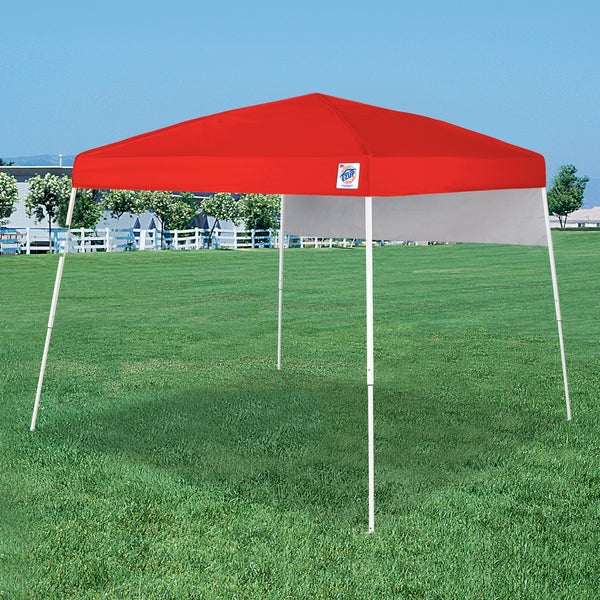 E-Z UP Red Dome 10' x 10' Outdoor Canopy