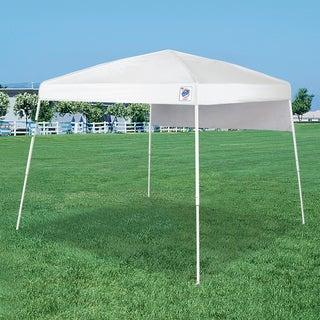 E-Z UP White Dome 10' x 10' Outdoor Canopy