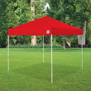E-Z UP Red Pyramid 10' x 10' Instant Shelter