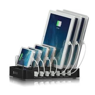 Satechi 7-Port USB Charging Station Dock (Black)|https://ak1.ostkcdn.com/images/products/10825987/P17869549.jpg?impolicy=medium