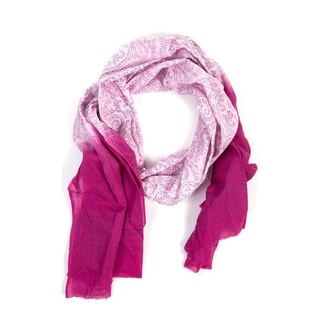Nature's Dip-Dye Magenta Scarf (India)