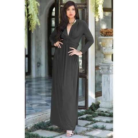 bb557ba9c519 Buy Grey Evening & Formal Dresses Online at Overstock | Our Best ...