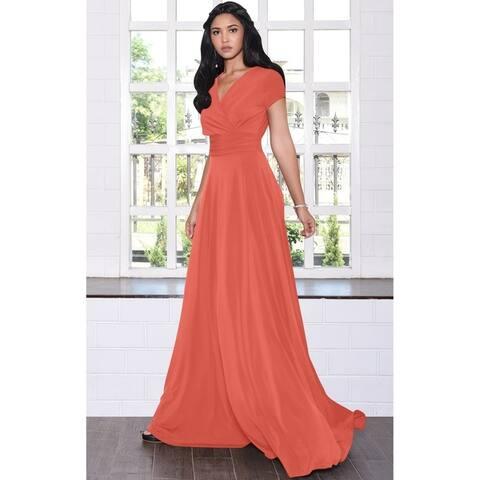 bd23cf53c Buy Orange Evening & Formal Dresses Online at Overstock | Our Best ...