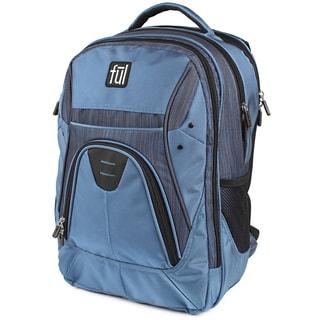 Ful Gung-Ho Blue 15-inch Laptop Backpack