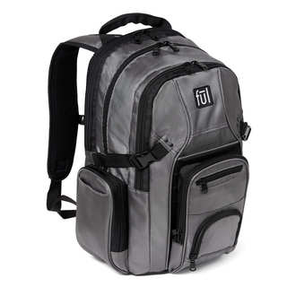 Tennman Black/ Grey 17-inch Sleeve Laptop Backpack