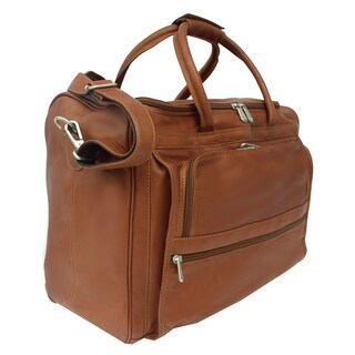 Piel Leather Carry All Briefcase