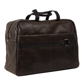 Piel Leather 19-inch Vintage Urban Carry On Duffel Bag