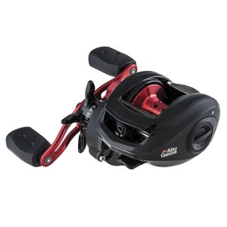 Abu Garcia Black Max Low Profile Reel LP 6.4:1 Gear Ratio 5 Bearings 18 lb Max Drag Right Hand Clam Package