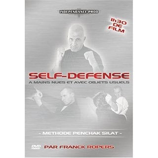 Empty Hands & Objects Penchak Silat Indonesian Martial Arts DVD Franck Ropers
