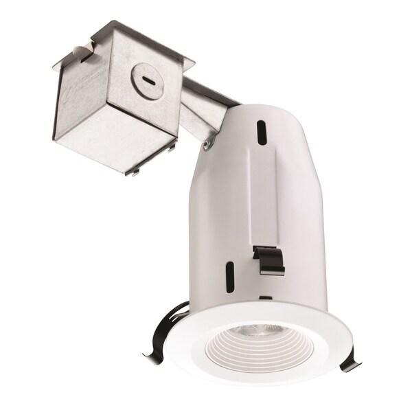 shop lithonia lighting lk3bmw led m4 3 inch matte white recessed