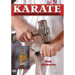 Ultimate Japanese Karate Body Conditioning DVD Takayuki Kubota sledge hammer