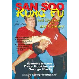 Jimmy Woo San Soo Kung Fu Total Body Fighting #1 DVD Dave Hopkins George Kosty