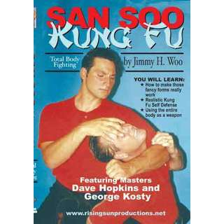 Jimmy Woo San Soo Kung Fu Total Body Fighting #2 DVD Dave Hopkins George Kosty