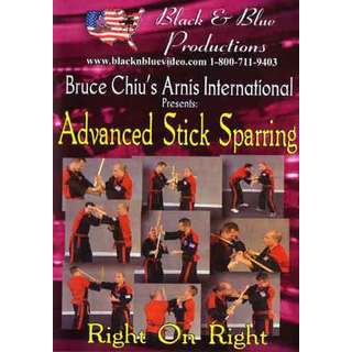 Arnis Advanced Stick Sparring Right on Right DVD Chiu filipino martial arts