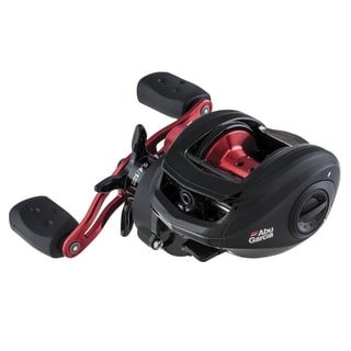 Abu Garcia Black Max Low Profile Reel LP 6.4:1 Gear Ratio 5 Bearings 18 lb Max Drag Left Hand Clam Package