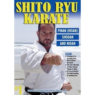 Okinawan Shito Ryu Karate #1 Cracking Code of Kata Pinon Shodan DVD Billimoria