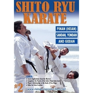 Okinawan Shito Ryu Karate #2 Cracking Code of Kata Pinan Sandan DVD Billimoria