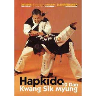 Hapkido Korean Karate DVD Kwang Sik Myung dislocations takedowns throws